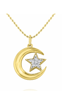 KC Designs Stars And Moons Necklace N7877 product image