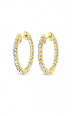 KC Designs Hoops  Earring E11266 product image