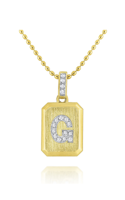 KC Designs Ingot Necklace N9543-G product image