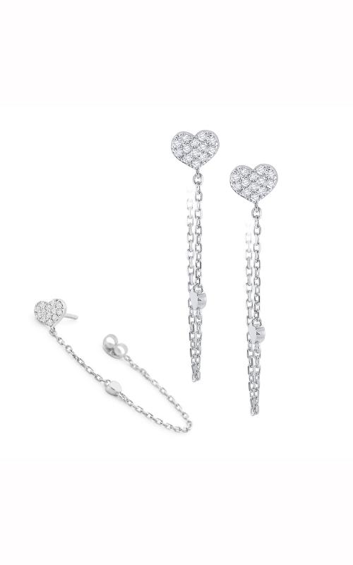 KC Designs Hoops  Earring E1724 product image