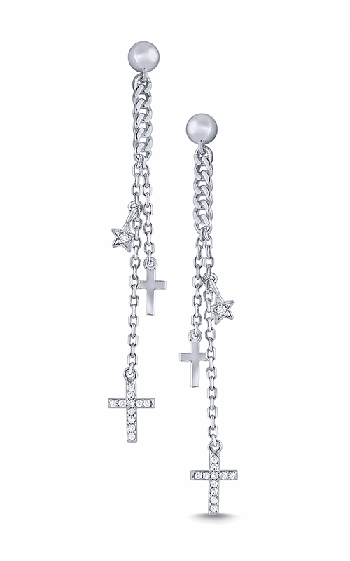 KC Designs Religious Earring E7884 product image
