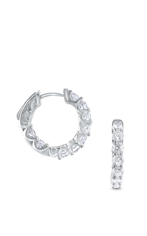 KC Designs Hoops  Earring E8761 product image