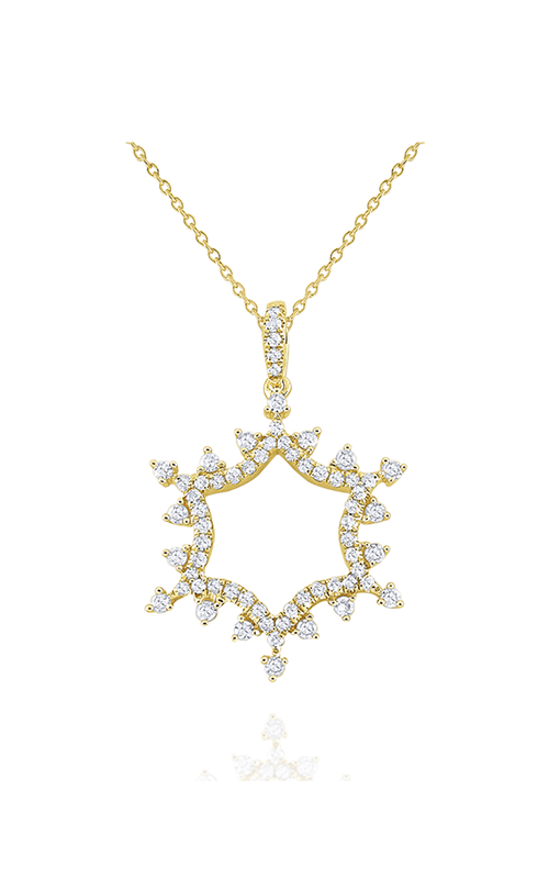 KC Designs Snowflake Necklace N8980 product image