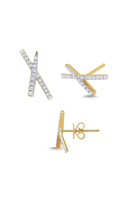 KC Designs Diamond Fashion Earring E1468 product image