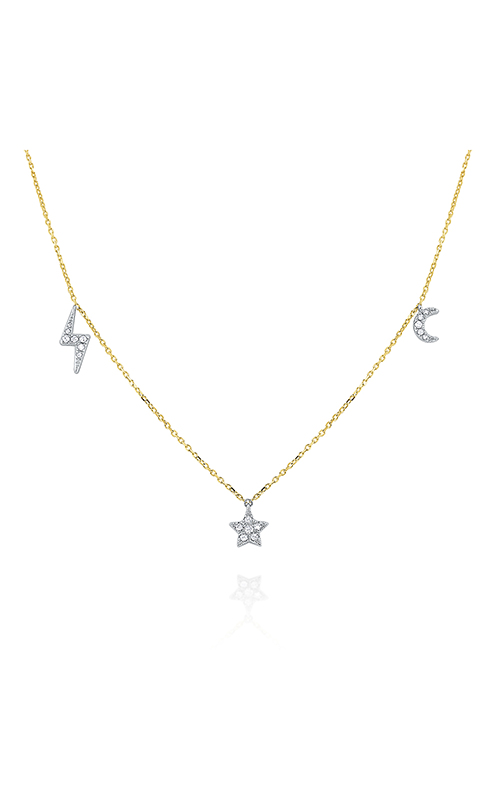 KC Designs Stars and Moons Necklace N1938 product image