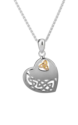 Keith Jack Celtic Heart Necklace PPX3640 product image