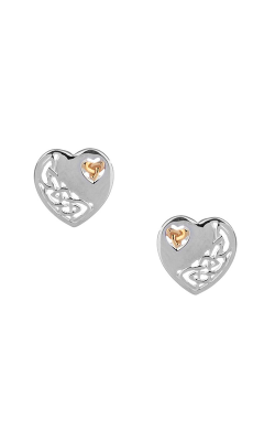 Keith Jack Celtic Heart Earrings PEX3641 product image