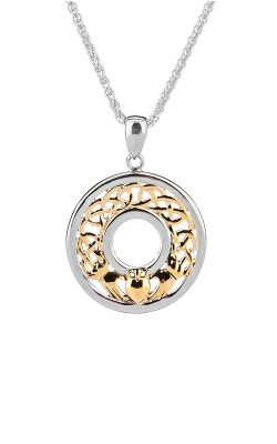 Keith Jack Claddagh Necklace PPX6475 product image