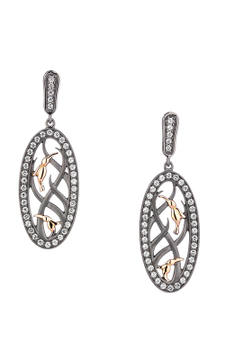 Keith Jack Hummingbird Earrings PEX8914-2-CZ product image