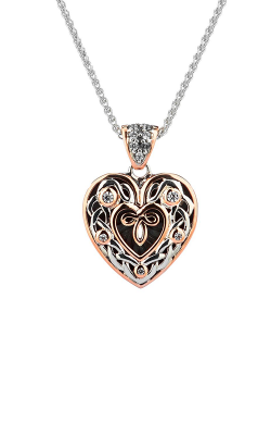 Keith Jack Celtic Heart Necklace PPX9164-3-CZ-S product image