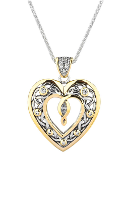 Keith Jack Celtic Heart Necklace PPX9165-CZ product image