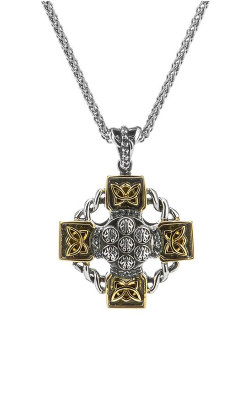 Keith Jack Celtic Crosses Necklace PCRX6109-WT product image