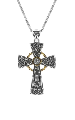 Keith Jack Celtic Crosses Necklace PCRX8444-WS product image