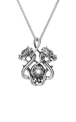Keith Jack Dragon Necklace PPS6105-S-WT product image