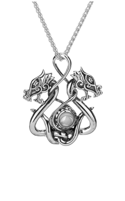 Keith Jack Dragon Necklace PPS6105-WT product image