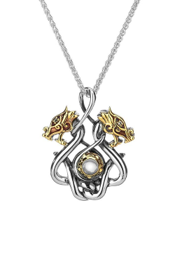 Keith Jack Dragon Necklace PPX6105-S-WT product image