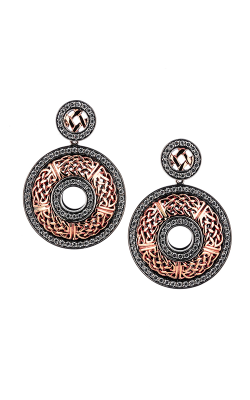 Keith Jack Brave Heart Earrings PEX9007-3-CZ product image