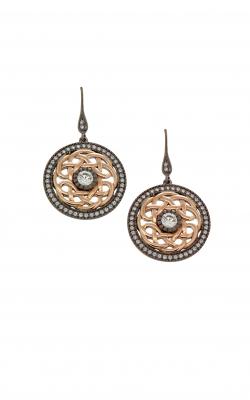 Keith Jack Ruthenium & Rose Earrings PEX8582-2 product image