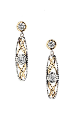 Keith Jack Brave Heart Earrings PEX8885-CZ product image