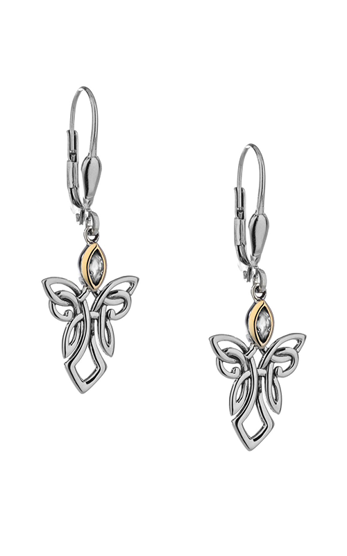 Keith Jack Guardian Angels Earrings PEX7849-CZ product image