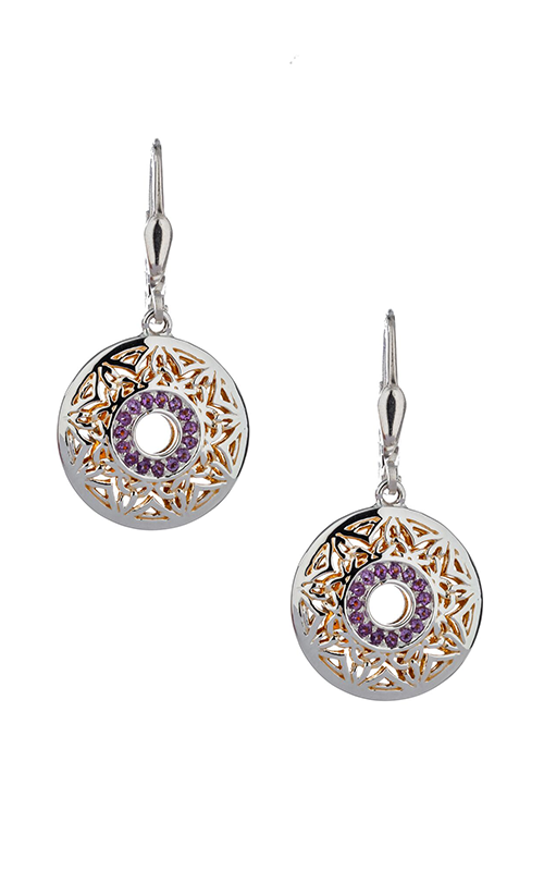 Keith Jack Window To The Soul Earrings PEX8087-AM product image