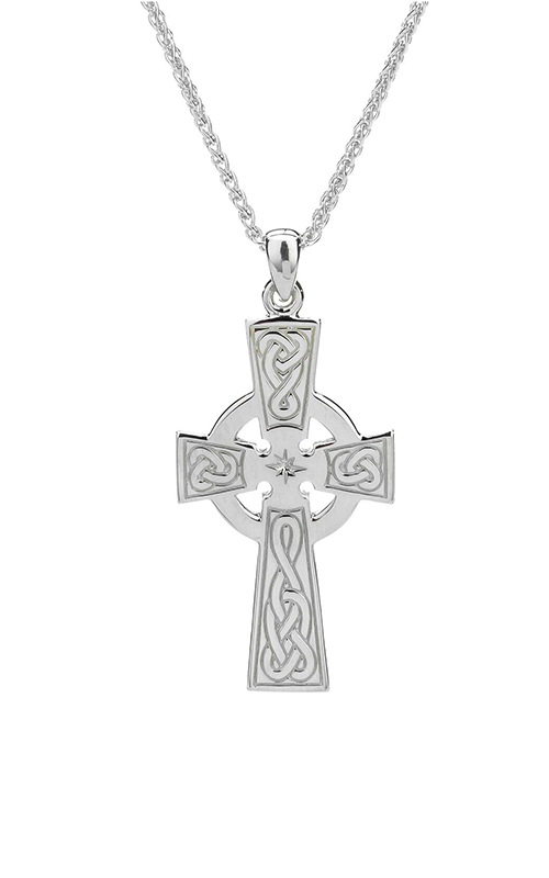 Keith Jack Celtic Crosses Necklace PCR3043 product image