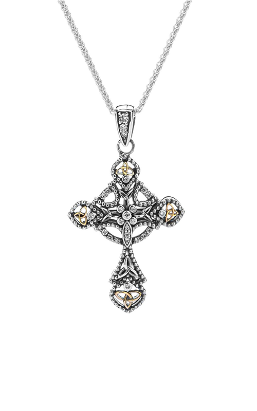 Keith Jack Celtic Crosses Necklace PCRX10251 product image