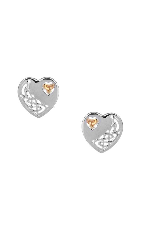 Keith Jack Celtic Heart Earrings PEX3641 product image