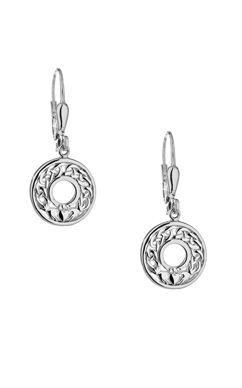 Keith Jack Claddagh Earrings PES6476 product image