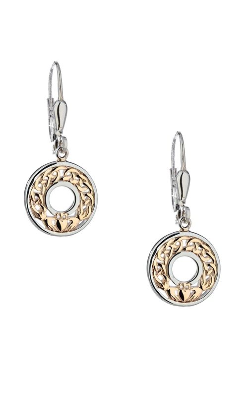 Keith Jack Claddagh Earrings PEX6476 product image