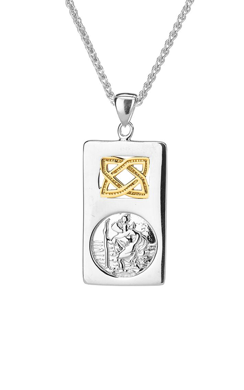 Keith Jack Saint Christopher Necklace PPX3693 product image