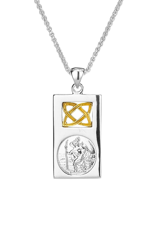 Keith Jack Saint Christopher Necklace PPX3693-S product image
