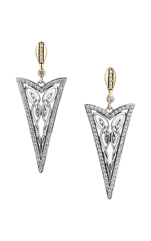 Keith Jack Butterfly Earrings PEX8994-CZ product image