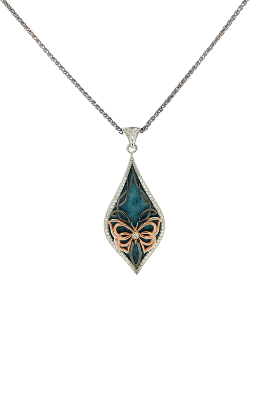 Keith Jack Butterfly Necklace PPEX6244-2-SB product image