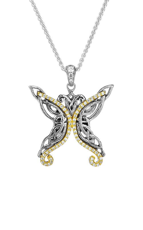 Keith Jack Butterfly Necklace PPX6239 product image