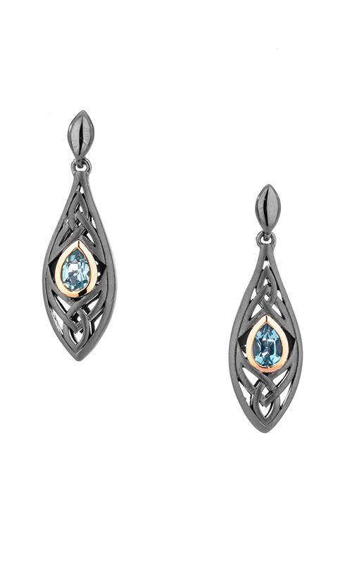 Keith Jack Ruthenium & Rose Earrings PEX8391-2-BT product image