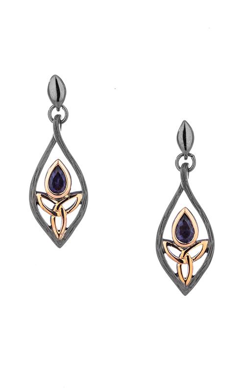 Keith Jack Ruthenium & Rose Earrings PEX8397-2-IOL product image