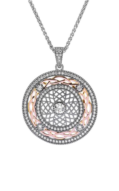 Keith Jack Ruthenium & Rose Necklace PPX8381-2 product image
