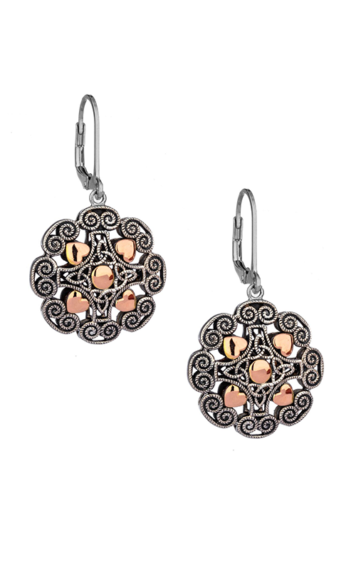 Keith Jack Ashen Rose Earrings PEX0617 product image