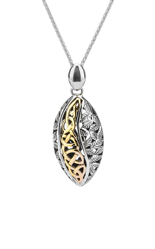 Keith Jack Leaves Necklace PPX8548 product image