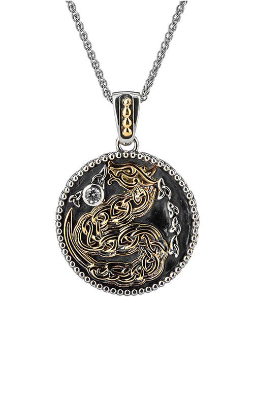 Keith Jack Dragon Necklace PPX9162-CZ product image