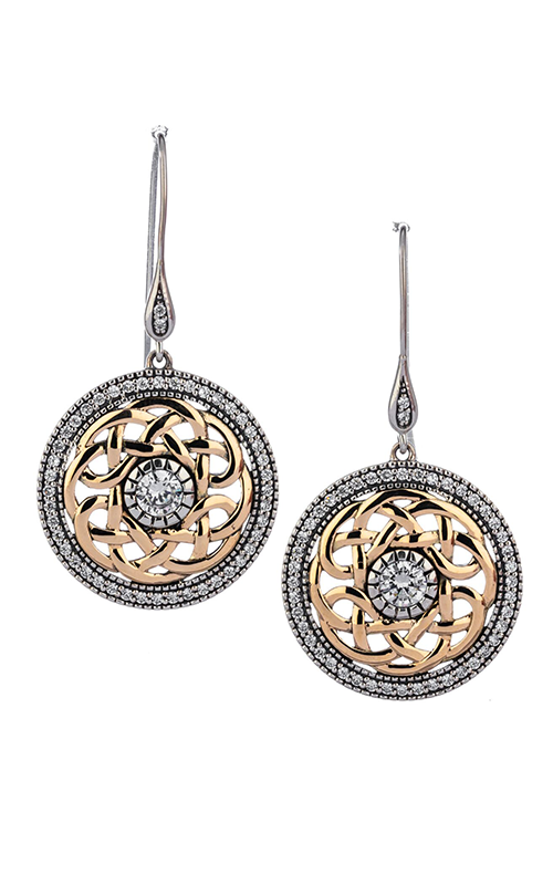 Keith Jack Brave Heart Earrings PEX8582 product image