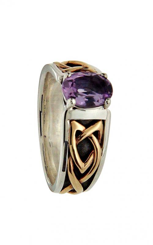Keith Jack Celtic Knot Wedding band PRX8418-AM product image