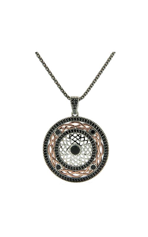 Keith Jack Brave Heart Necklace PBX8824-4-L-BCZ product image