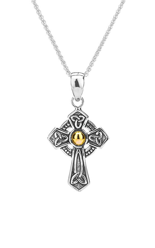 Keith Jack Celtic Crosses Necklace PCRX9034 product image