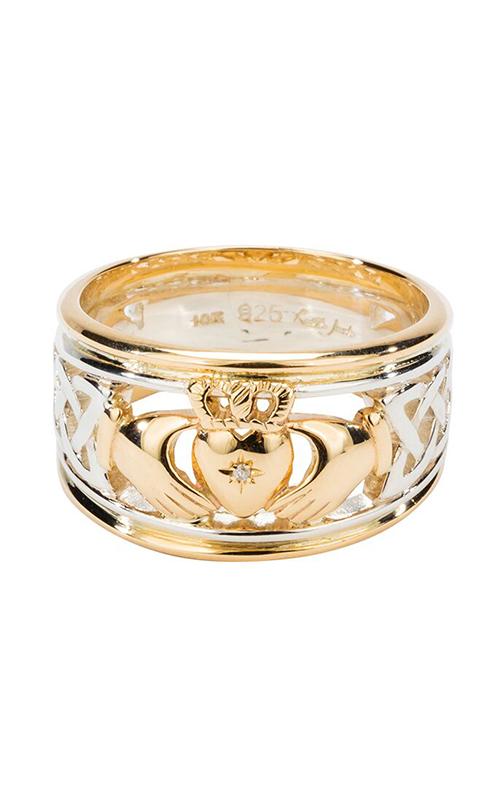 Keith Jack Claddagh Wedding Band PRX3644-2 product image
