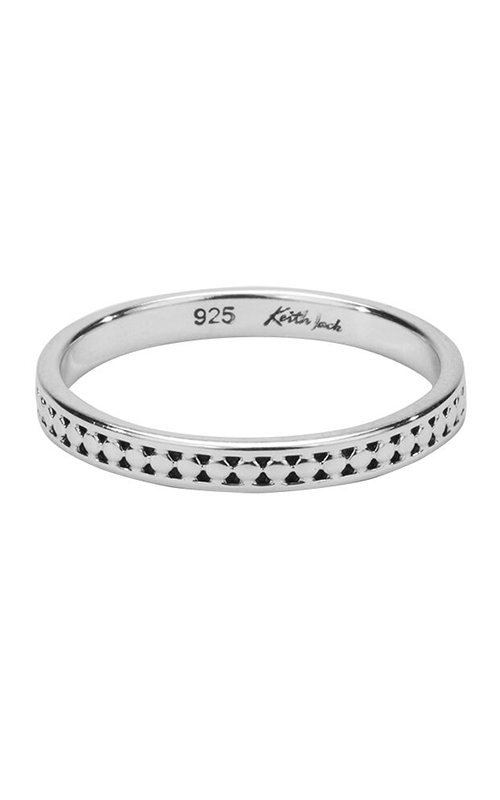 Keith Jack Silver Wedding Band PRS5387 product image