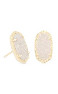 2682cecb8 Kendra Scott Earrings Ellie Gold Iridescent Drusy