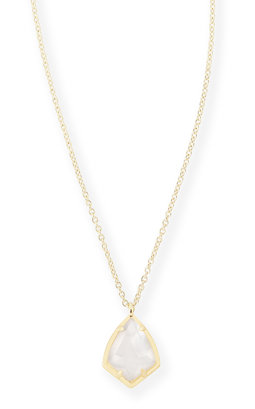 d7142fd3dabd3d Kendra Scott Necklaces Cory Gold Ivory Pearl product image. Loading zoom