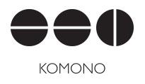 Komono's logo